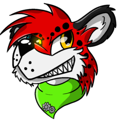 Nyro headshot by DeathByUFO on dA.