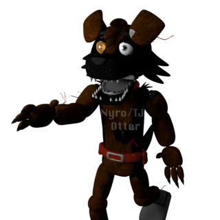 New animatronic Rex model for <i>Five Nights at Worst Chicken: Remastered</i>.