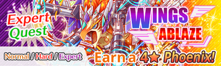 Wings Ablaze Quest Banner