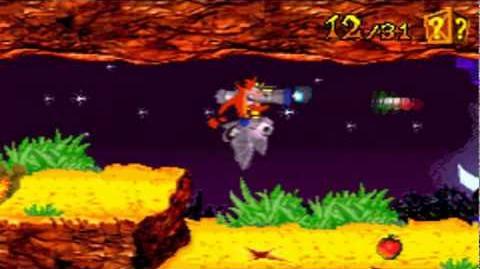 Crash Bandicoot Purple 99% Part 22 (Bat Attack)