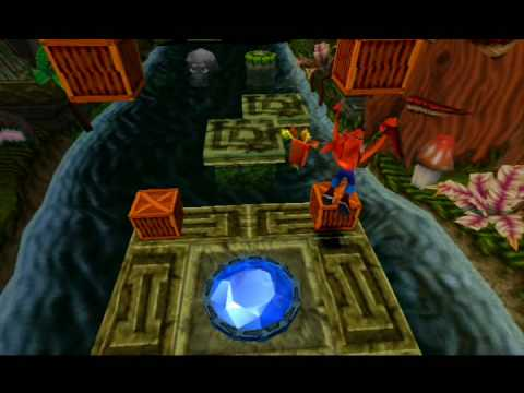 Gemme bleue dans crash bandicoot 1 PS1