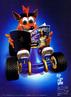 CTR - Crash reading PlayStation Magazine