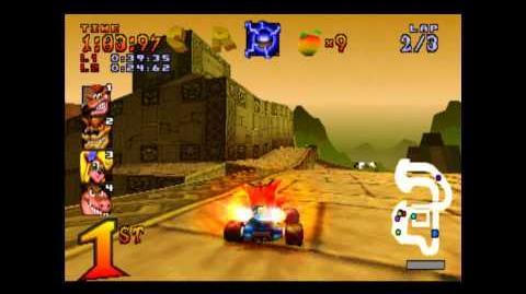 Papu's Pyramid - CTR Challenge - Crash Team Racing - 101% Playthrough (Part 30)