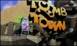 LOGO TOMB TOWN