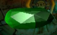 Crash 2 Green Gem in-game