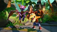 Spyro and Crash - Skylanders