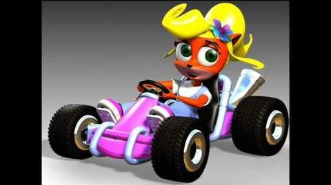 Crash Nitro Kart - Coco Bandicoot quotes taunts