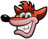 Crash Bandicoot N. Sane Trilogy Crash Bandicoot Pause Menu Icon