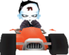 Crash Bandicoot Nitro Kart 2 Nina Cortex