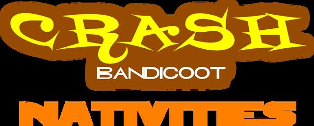 File:Crash Bandicoot Nativities logo.png