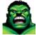 Hulk's Face
