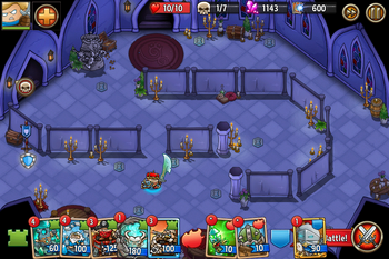 Tower of the Minotaur King (Level 4)