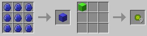 Block recipes