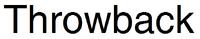Throwback Logo