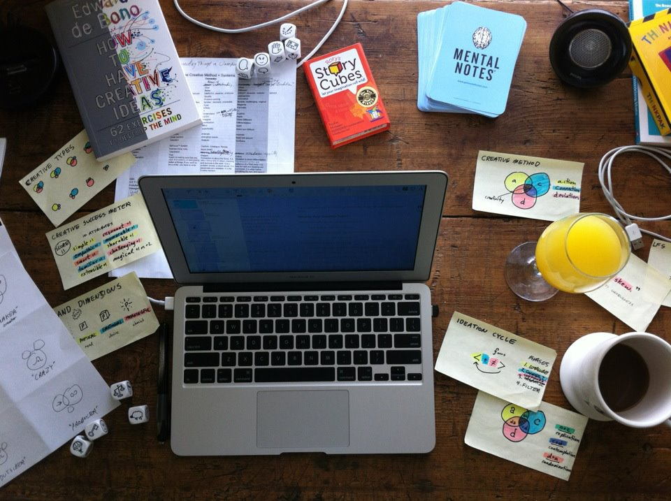 Image - Creative desk.jpg | Create More Better Different Wiki | FANDOM  powered by Wikia