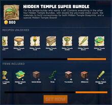 Creativerse 2 hidden temple store packs 085