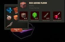 Creativerse Red Adobe Floor Diamond Chest new010
