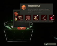 Creativerse Red Adobe Wall Stone Chest300