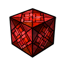Glass Stained Red