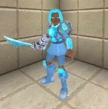 Creativerse sword holding 98