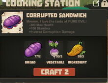 Creativerse cooking recipes R23 158