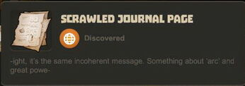 Creativerse note message about arc and power992