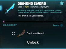 Creativerse sword unlocks R43 43