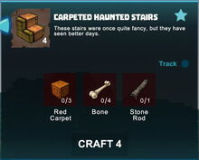 Creativerse crafting recipes stairs R41,5 152