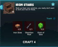 Creativerse crafting recipes R41,5 stairs07
