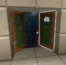 Creativerse 2 wood doors R32