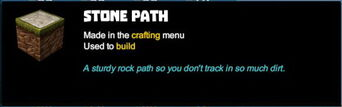 Creativerse tooltips R40 040 stone blocks crafted
