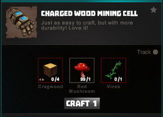 Creativerse crafting recipes R34 Mining Cell 0003
