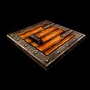 Trap Door Wood Iron
