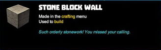 Creativerse tooltips R40 038 stone blocks crafted