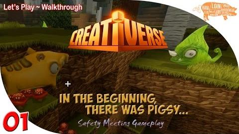 ~ Creativerse Multiplayer Gameplay ep01 In The Beginning, There Was Pigsy...