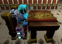 Creativerse R41 colossal castle medieval table and chair01