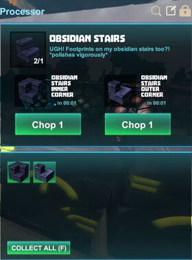 Creativerse R41,5 processing corners for stairs 529