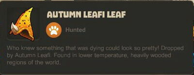 Creativerse Autumn Leafi Leaf R23 1991
