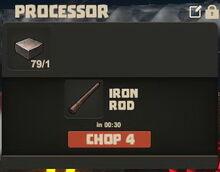 Creativerse Iron slab and rod01