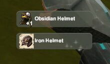 Creativerse unlock R22 Obsidian Armor Iron435563