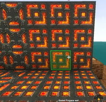 Creativerse Grated Furnace Wall2003