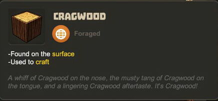Creativerse R27 tooltips wood logs0706