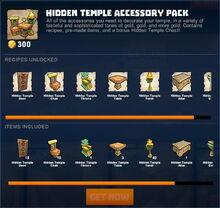 Creativerse 2 hidden temple store packs 089