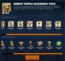 Creativerse 2 hidden temple store packs 090