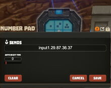 Creativerse R33 Window Number Pad 001