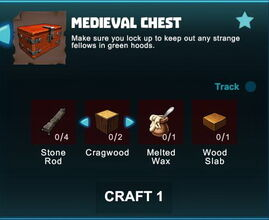 Creativerse R41 crafting recipes colossal castle medieval chest01