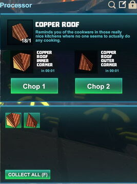 Creativerse R41,5 processing corners for roofs 514