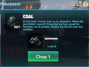 Creativerse R41 coal to gunpowder