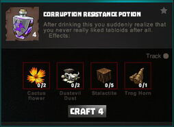 Creativerse crafting recipes R34 Potions 0042