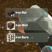 Creativerse unlock R22 Iron Bar Wall Bars010